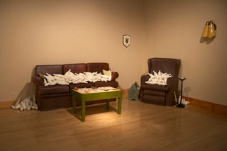 A Time That Was (installation view), Paula Moran