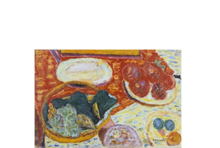 Still Life with Ham,Pierre Bonnard
