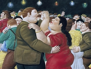 Dancers,Fernando Botero