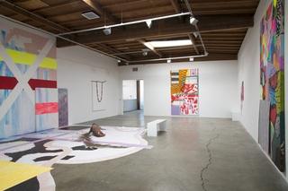 Installation view, Sarah Cain