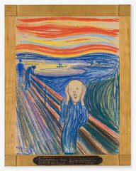 The Scream,Edvard Munch