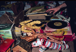 Travelling Garage Sale,Martha Rosler