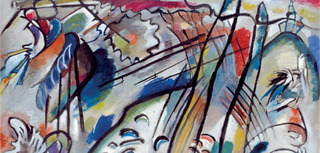 Improvisation 28 (second version) (Improvisation 28 [zweite Fassung]),  (detail), Vasily Kandinsky