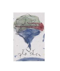 Seite aus einem Notizbuch: Studie zu einer Skulptur in Form eines Blumenstraußes, Claes Oldenburg