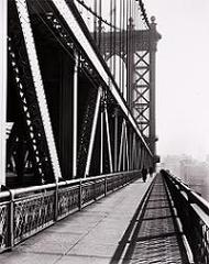 Manhattan Bridge,Berenice Abbott