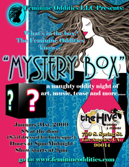 """Mystery Box""  , Debra Haden and Feminine Oddities LLC"