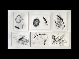 Jonas Drawings Installation, Clifford Owens