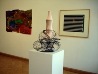 View into the exhibition, Donald Judd, Bettina Lüdicke, Enrico Niemann