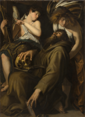 The Ectasy of Saint Francis ,Giovanni Baglione