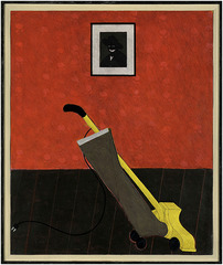 Portrait of the Artist & Vacuum Cleaner,Kerry James Marshall