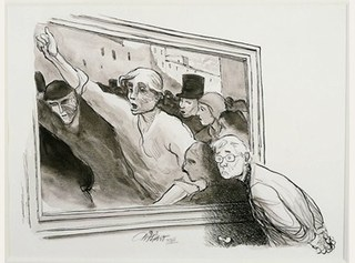 Homage to Daumier,Patrick Oliphant