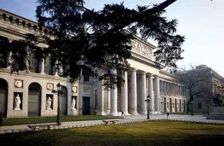 Villanueva Building, Velázquez Entrance (Paseo del Prado Facade),