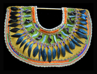 Peruvian Feather Yoke, paula donis