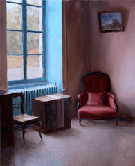 Harmony in Teal and Burgundy, Kenny Harris