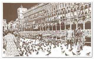 """Thomas Eitte   """"Piazza san Marco, Thomas Witte"""