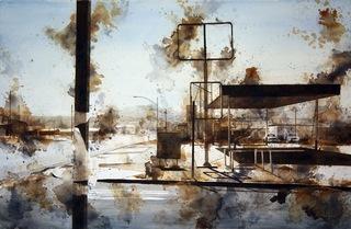 Gas Station, Joshua Tree, Tim Saternow