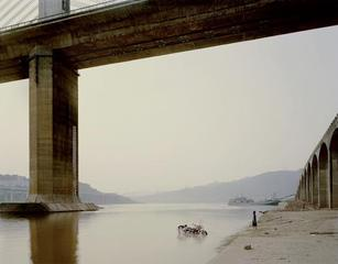 Chongqing VII, (Washing Bike), Nadav Kander