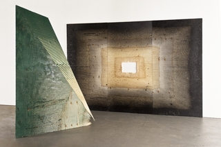 Projection (green) and Silver Screen,Michael Delucia