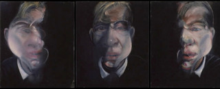 Three studies for a self-portrait, Francis Bacon