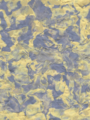 Composition In Clay XIV (Yellow and Blue)  , Travess Smalley