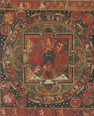 Thangka of the Hevajra Mandala,