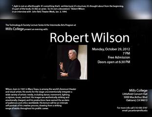 , Robert Wilson