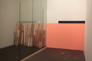 Espace de projection / Exhibition view: Art Statements , Art Basel, Switzerland, 2012, Elodie Seguin
