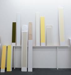 Etude abîme: lumière de fenêtre en meurtrière sur socle mur, (detail) , Elodie Seguin