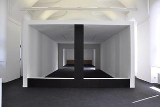 Exhibition view: Debout Derrière, Scène Ouverte, Centre Culturel Français, Milan, Italy, Elodie Seguin