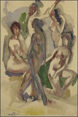 Figure Composition, Arthur B. Davies