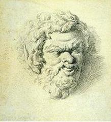 Head of a Satyr, richard johnson