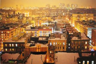 Snowy Scene in Harlem, Orestes Gonzalez