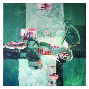 20121016022337-sent_of_the_sea-_mixed_media_on_canvas_-100x100cm--2010