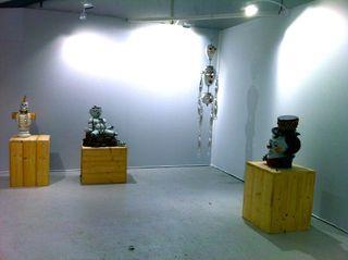 Installation view, Slick Art Fair Paris, Hans van Bentem