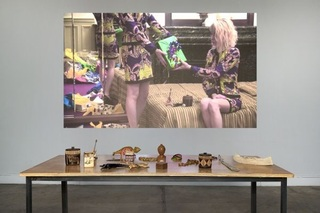 Installation View, 'Cece est ma maison / This is my place', Magasin - CNAC, Grenoble, Lili Reynaud-Dewar