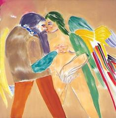 Los Angeles No. 26 (Nose Kiss), R.B. Kitaj