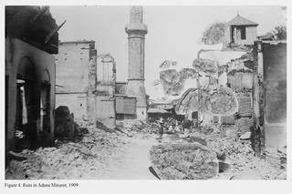 Ruin in Adana Minaret, 1909 , Mehreen Murtaza