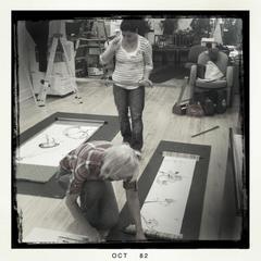 Installation, Ann Ponce, Patricia Larkin Green, Agustina Diez Sierra, Maggie Rife Ponce