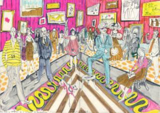 Bad Portraits of Establishment Figures (preparatory sketch), Grayson Perry