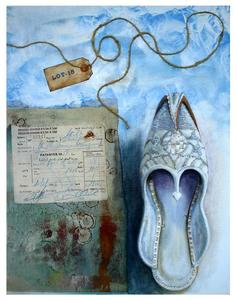 Lot_15_sultan_s_shoes___mixed_media