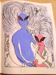 Madame Boursier and Her Daughter, Kembra Pfahler