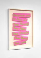 REASONS NOT TO BUY ART, Jesse Harris