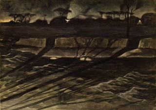 Night, Charles Burchfield