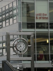 until the & of time, installation in North Vancouver City Library, IAIN BAXTER&
