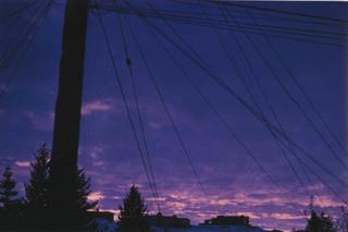 Telephone Pole and Wires, Moscow, Idaho, IAIN BAXTER&
