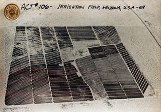 ACT #106 - Irrigation Field, Arizona, U.S.A.,IAIN BAXTER&amp;