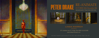 Re-Animate Solo Exhibition, Peter Drake