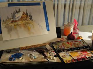 Watercolor Workshop with Willellyn McFarland,
