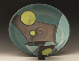 Bowl and plate, Lisa Knaus