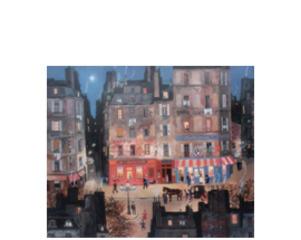 """Le restaurant """"chez Victoire"""", Michel Delacroix"""